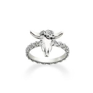 James Avery Desert Rose Longhorn Bull Ring